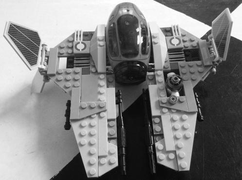 Star Wars Lego bw