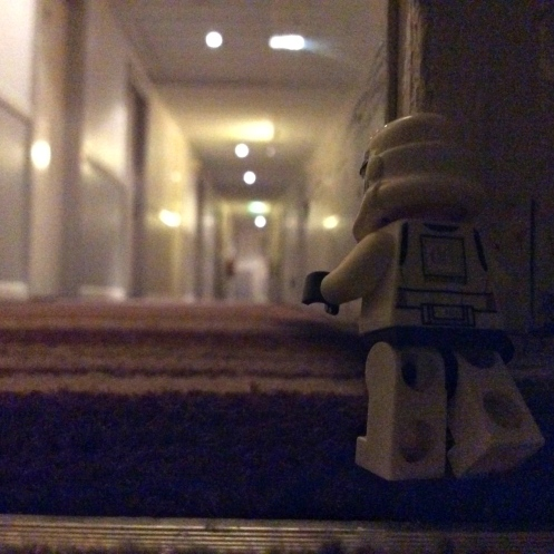Late night corridor