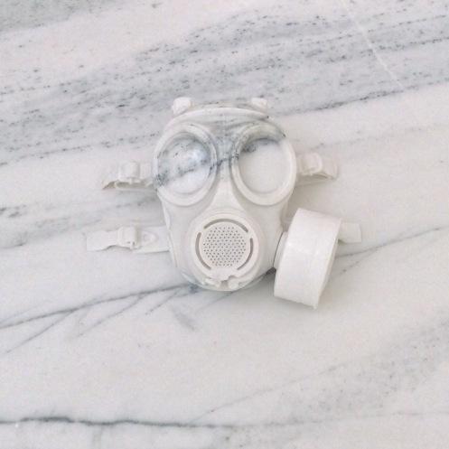 Aiweiwei gas mask