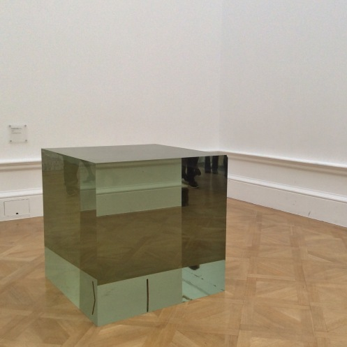 Aiweiwei glass block