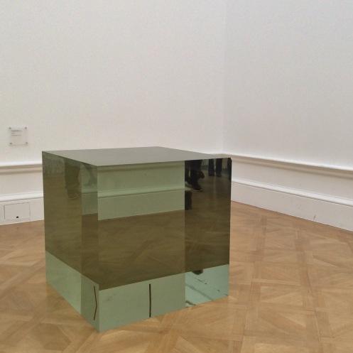 Aiweiwei glass block