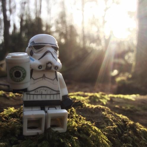 Storm trooper coffee