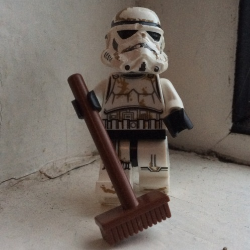Storm trooper broom