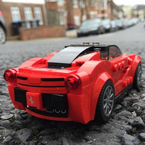 Ferrari rear
