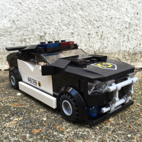 Lego bad cop car