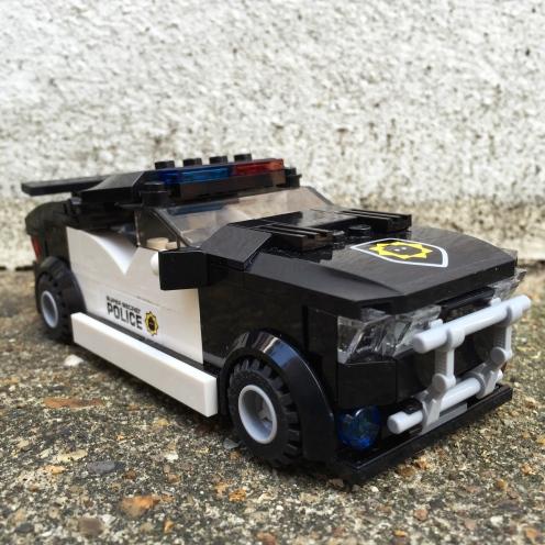 Lego bad cop car