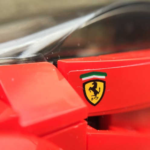 Ferrari close up
