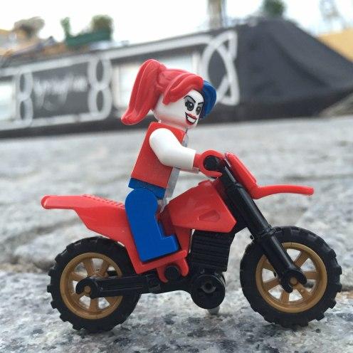 Harley Quinn motorbike