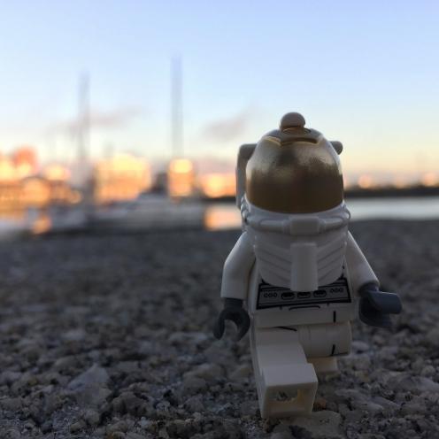 Astronaut marina