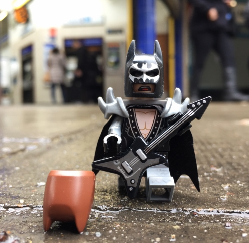 Busker Batman